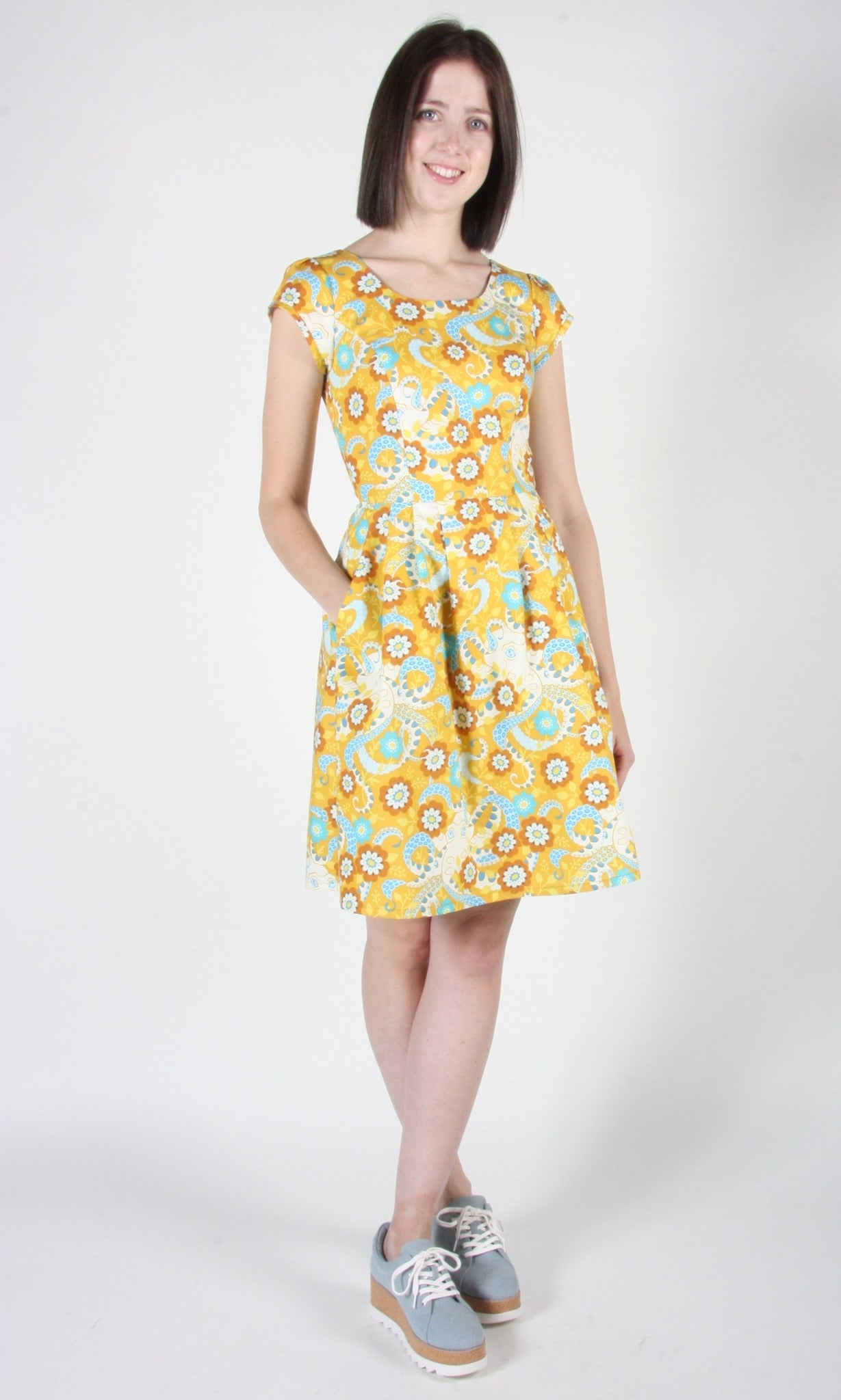 Gallinule Dress - Octopus' Daydream