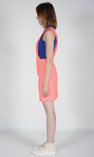 Harrier Tunic - Neon Coral