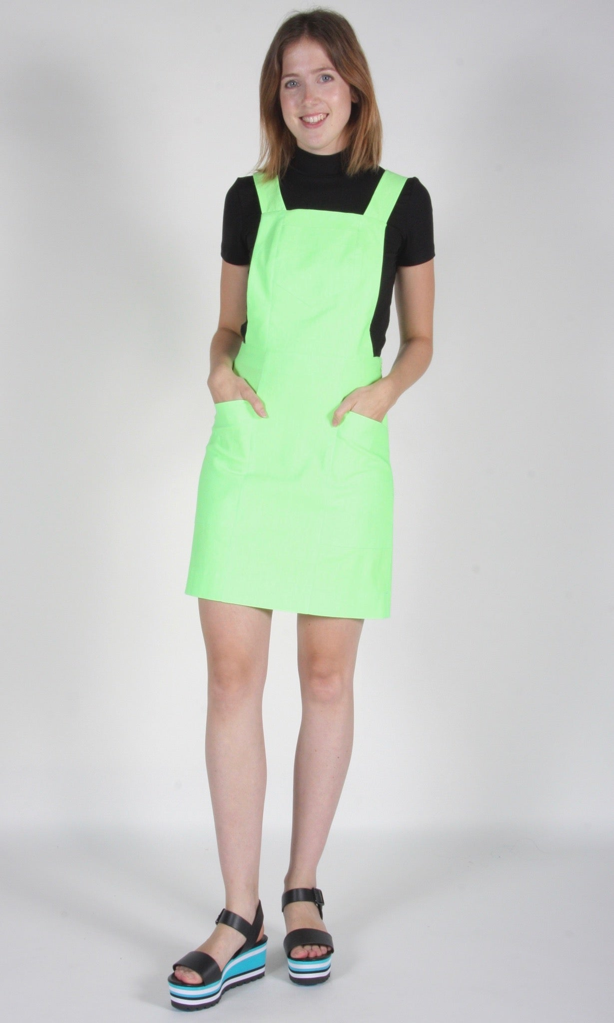 Harrier Tunic - Neon Lime