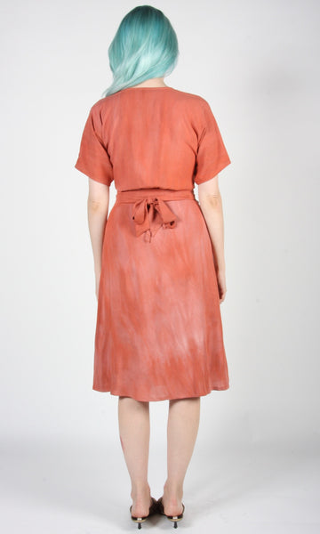 Tournepierre Skirt - Sand Washed Coral