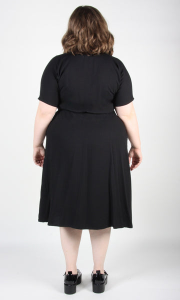 Hookbill Dress - Black