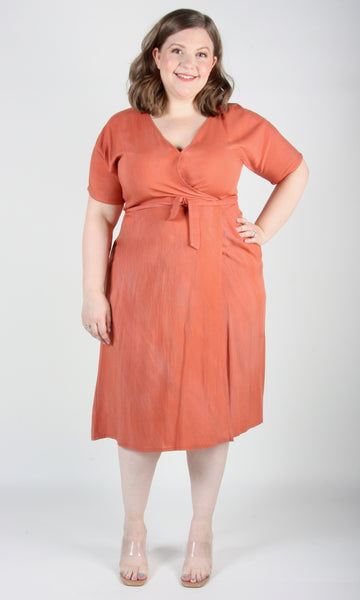 Hookbill Dress - Sand Washed Coral