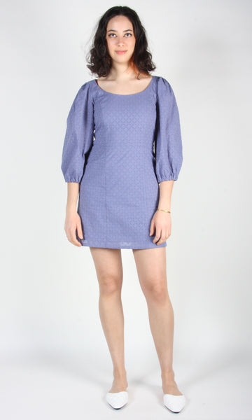 Hummingbird Dress - Periwinkle