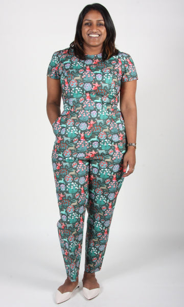 Auk Jumpsuit - Leopard Tulip People