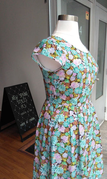 Gallinule Dress - Succulents