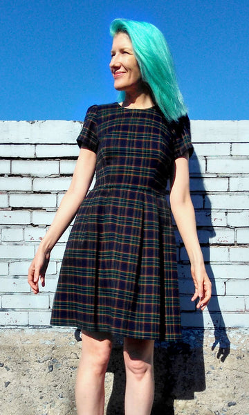 Woodnymph Dress - Plaid