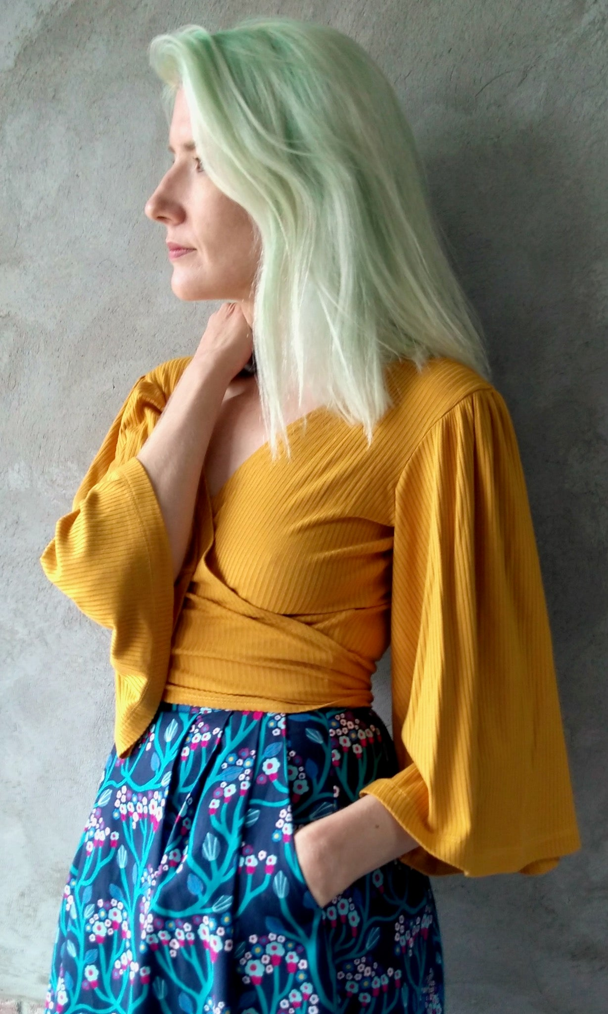 Treehunter Top - Citrine