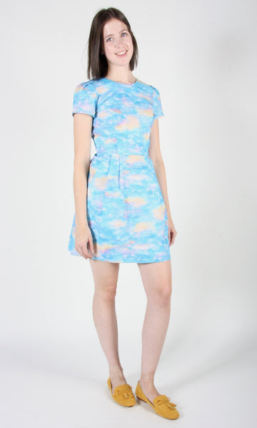 Kittiwake Dress - Cumulus