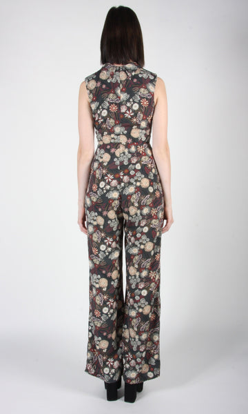 Needletail Jumpsuit - Forest Flower Burst