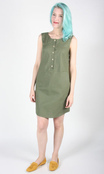 Nightjar Dress - Leaf