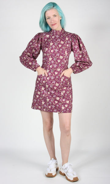 Nyctale Dress - Purple Posy