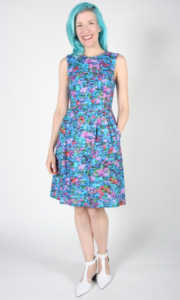 Océanite Dress - Honeydrunk Blue
