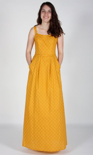 Oropendola Dress - Ochre
