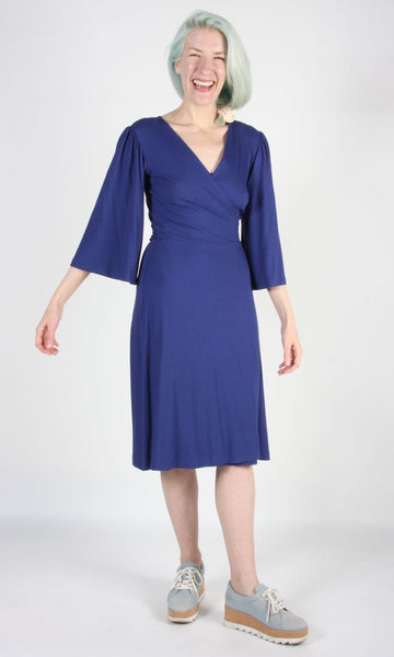 Palmcreeper Dress - Bluebell