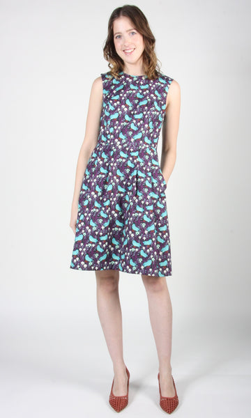 Peafowl Dress - Bird Forest