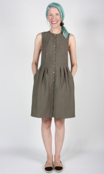 Pingouin Dress - Olive