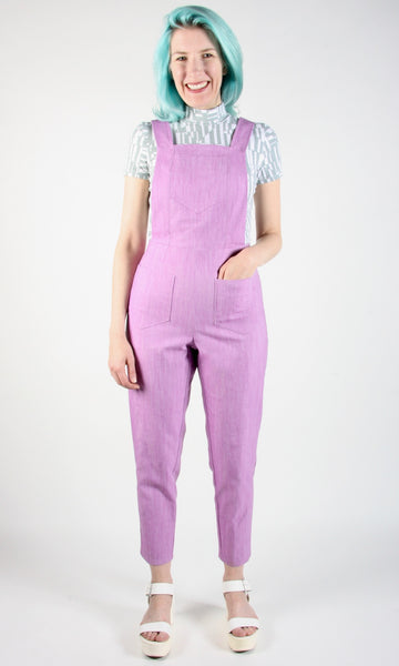 Currawong Overalls - Purplicious
