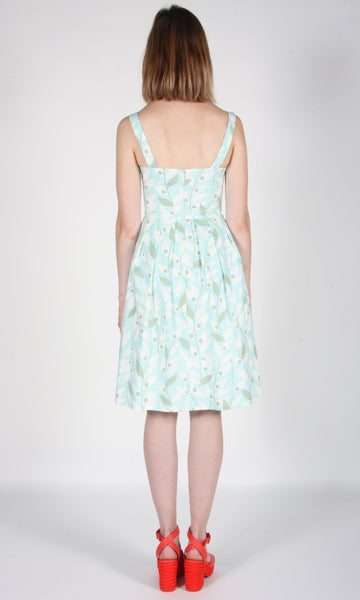 Purpletuft Dress - Mint Khakiberry
