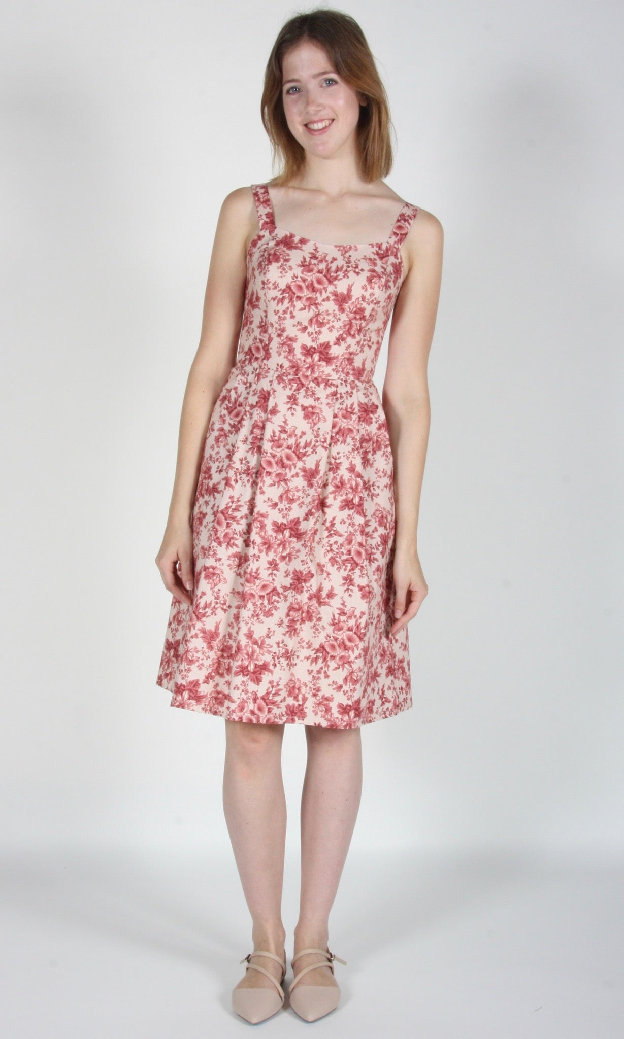 Purpletuft Dress - Rose Chintz
