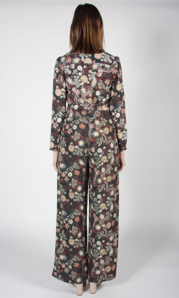 Skylark Pant - Forest Flower Burst