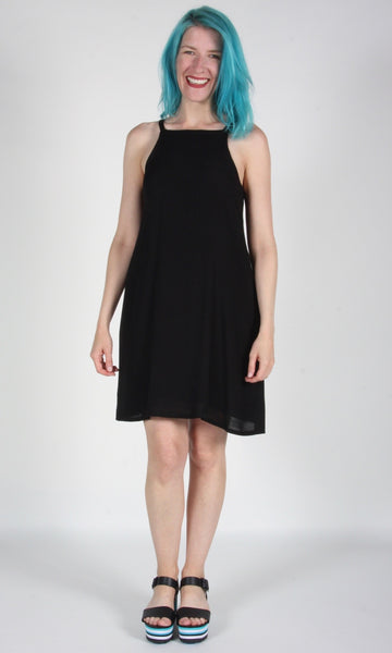 Sicklebill Dress - Black