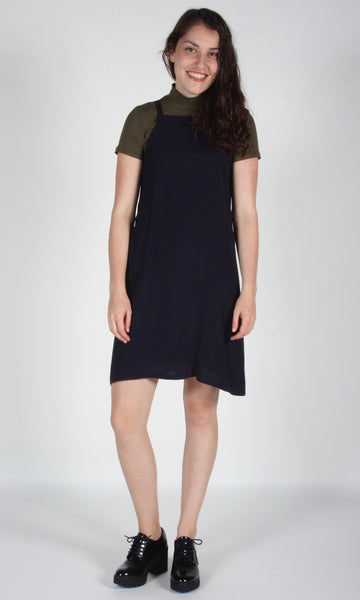 Sicklebill Dress - Navy