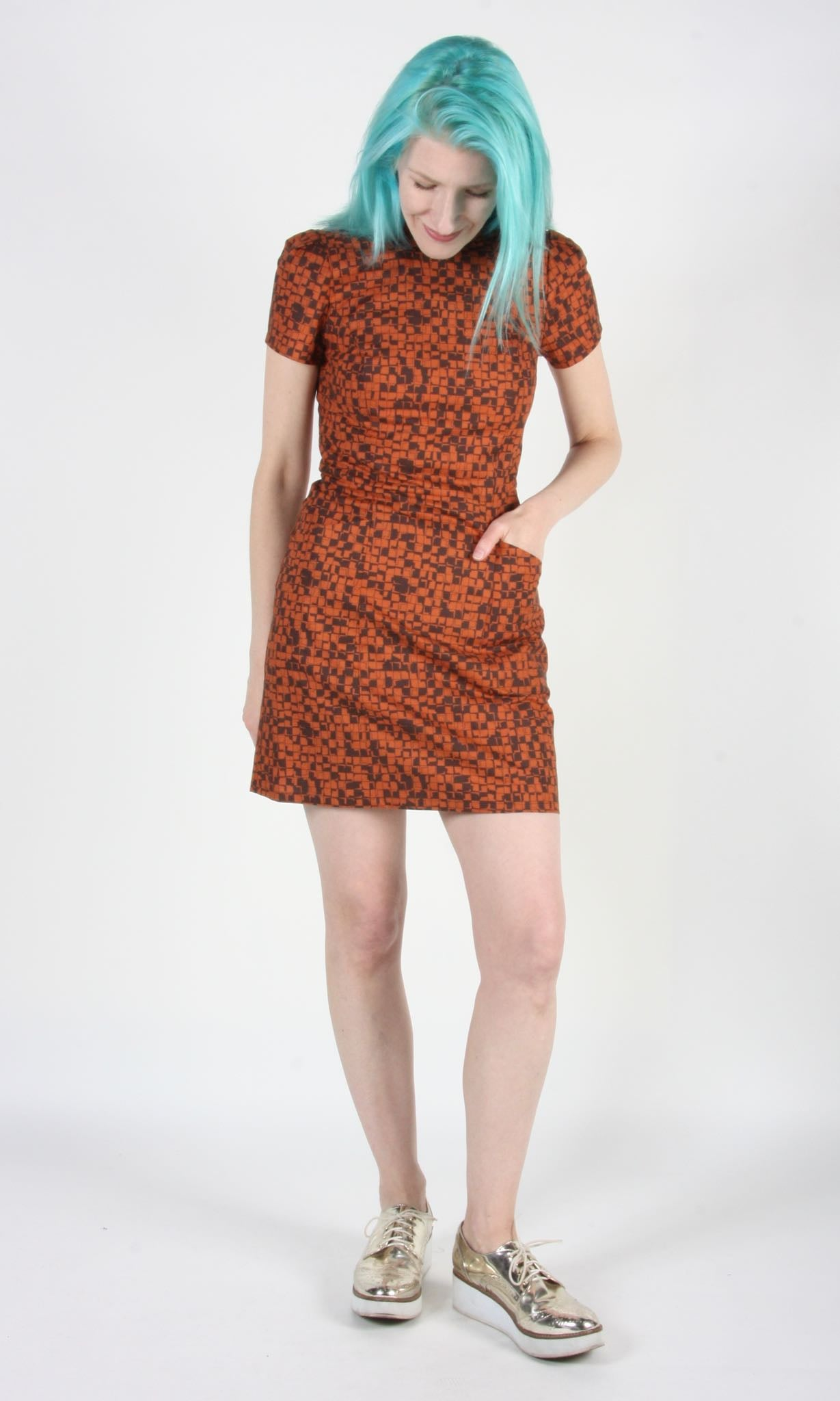 Spadebill Dress - Burnt Kubota