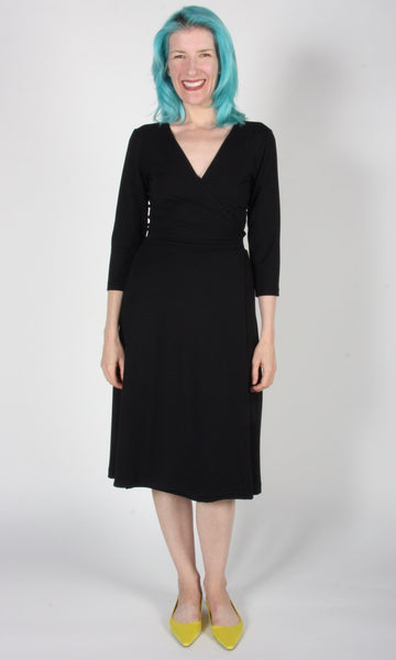 Spoonbill Dress - Black