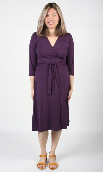 Spoonbill Dress - Eggplant