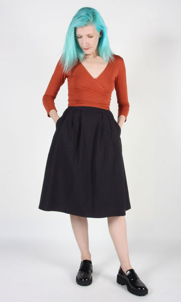Tadorne Skirt - Black