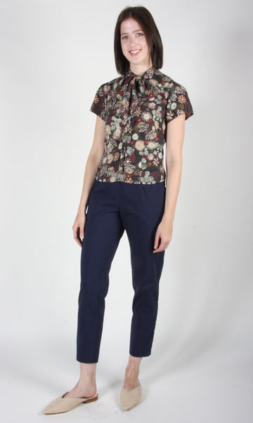 Catbird top - Forest Flower Burst
