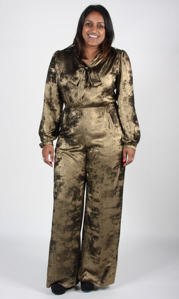 Thrasher Jumpsuit - Crushed Gold