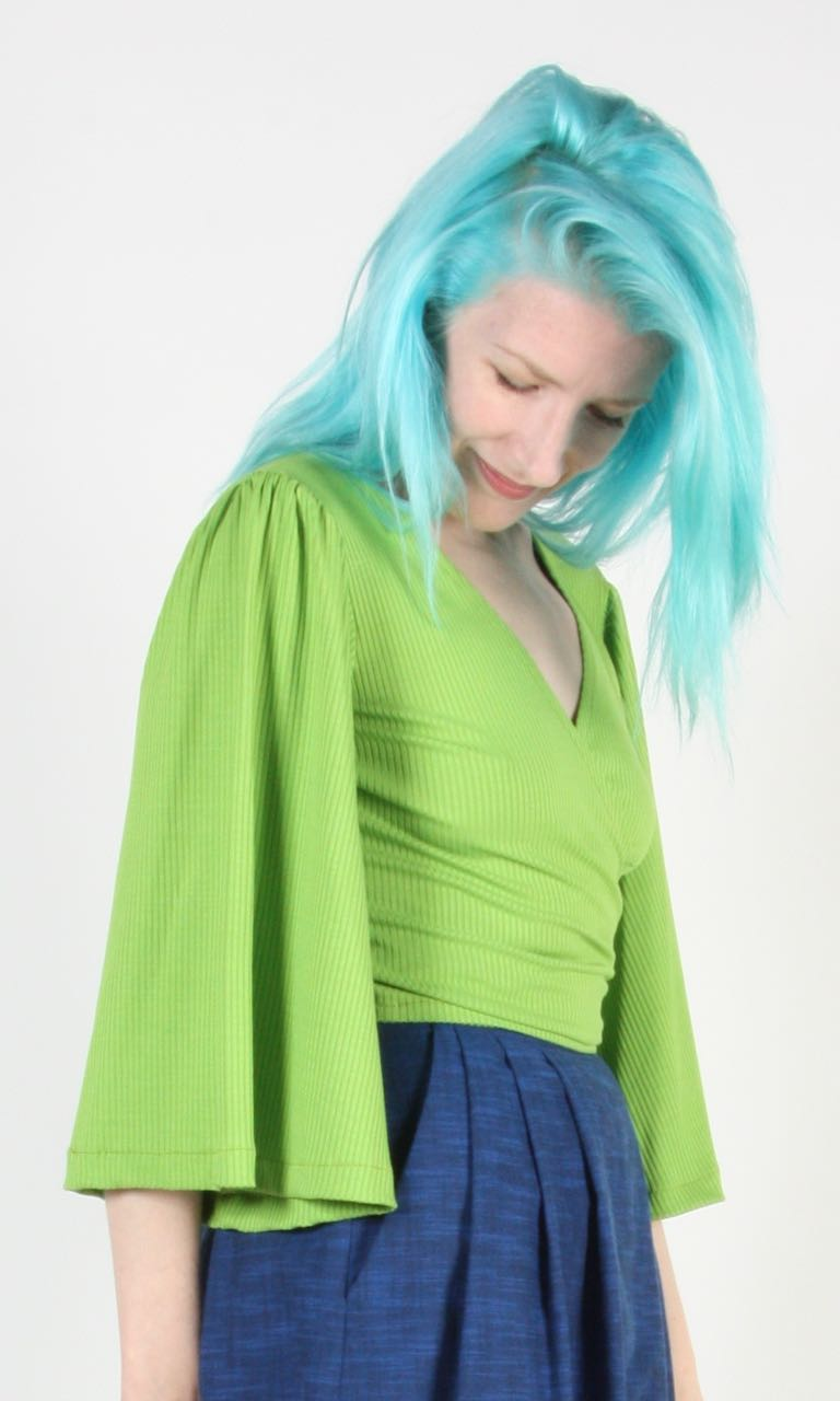 Treehunter Top - Lime