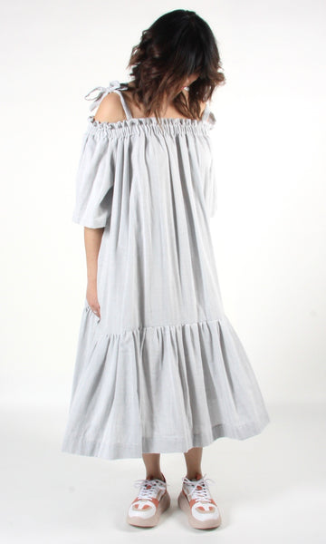 Troupial Dress - Cloud