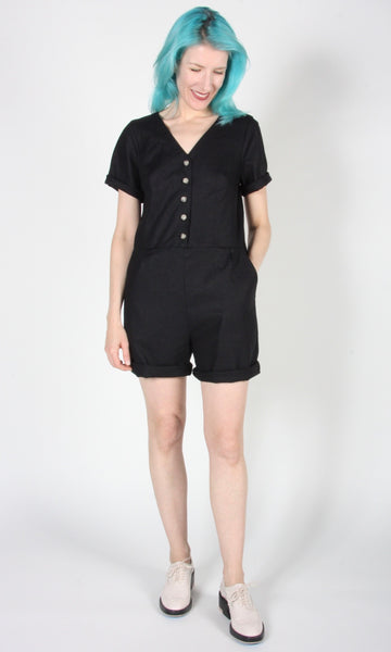 Woodhaunter Romper - Black