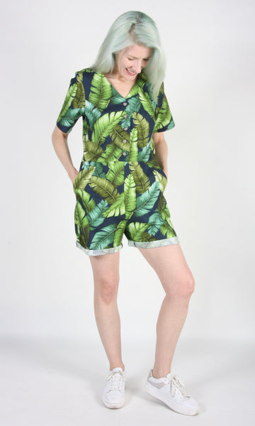 Woodhaunter Jumpsuit - Banana Leaves