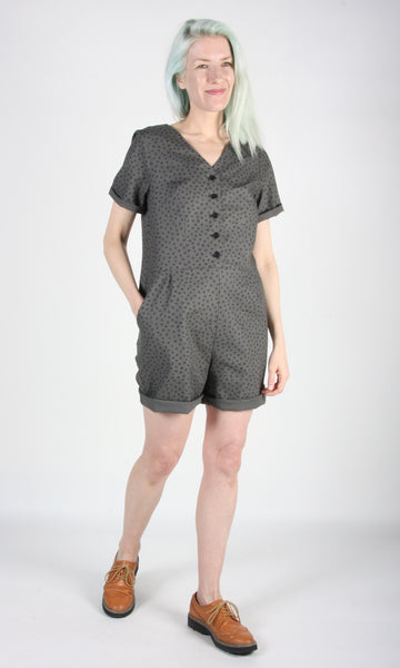 Woodhaunter Jumpsuit - Grey Hatch