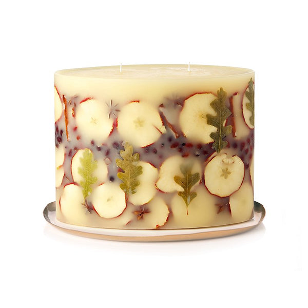 SPICY APPLE LIMITED BOTANICAL CANDLE + PLATE