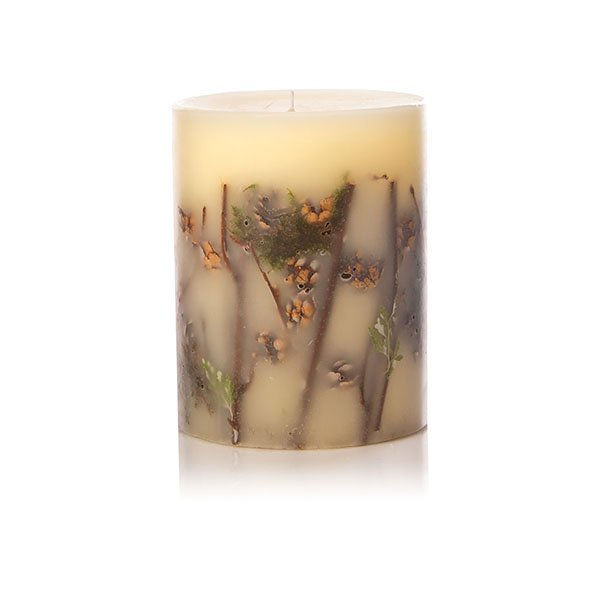 "Forest 5"" Round Botanical  Candles"
