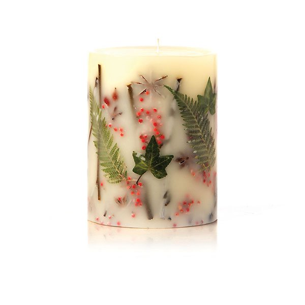 RED CURRANT + CRANBERRY  ROUND BOTANICAL CANDLES