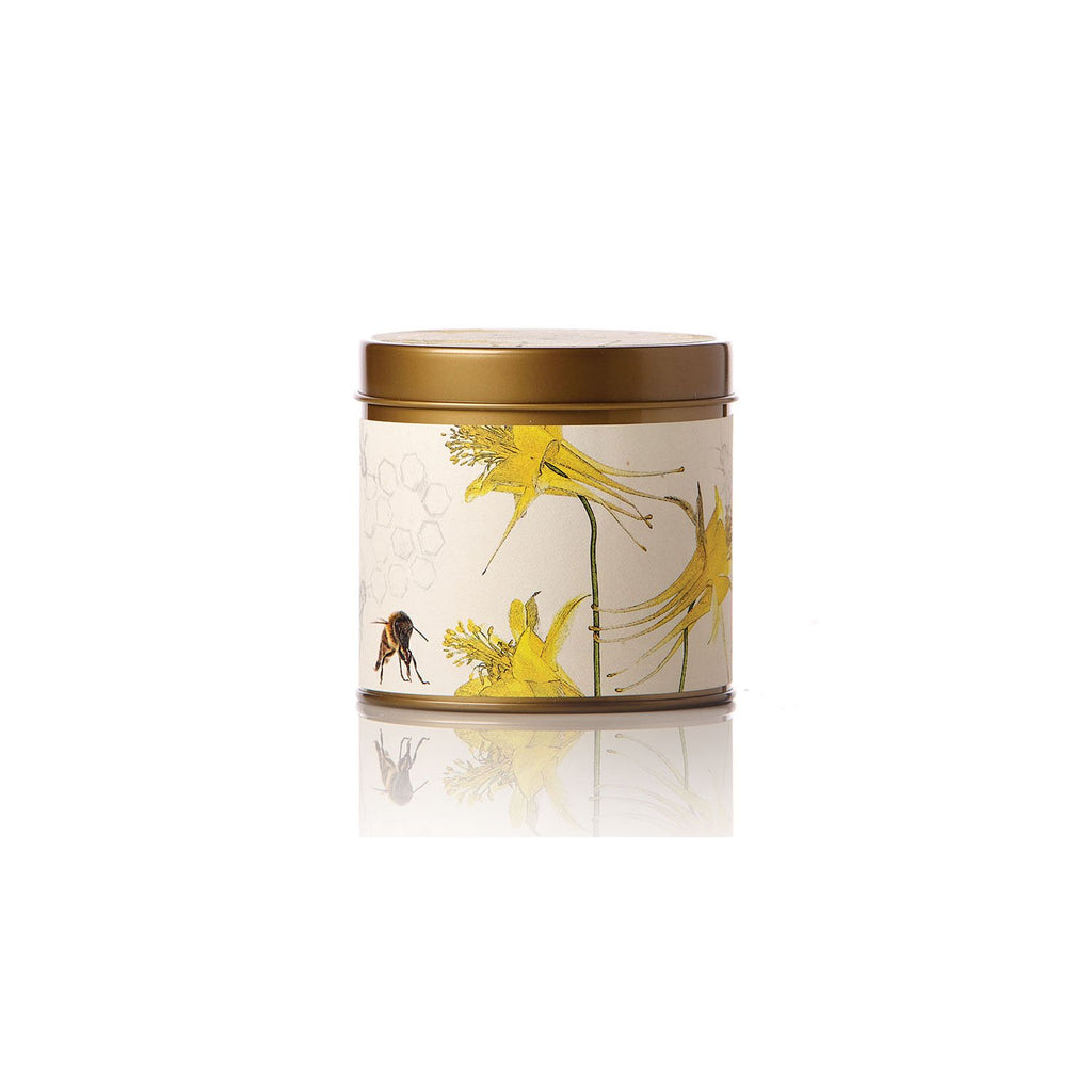 Honey Tobacco Tin Candle