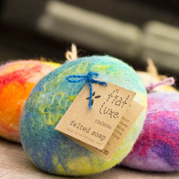 Fiat Luxe Round Felted Soaps