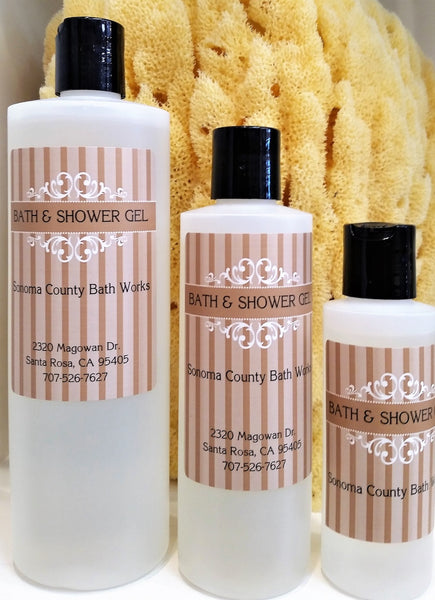 Sonoma County Bath Works Bath & Shower Gel
