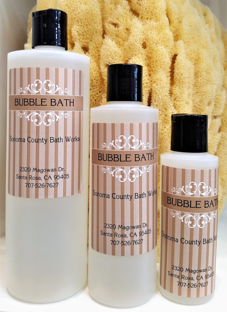 Sonoma County Bath Works Bubble Bath