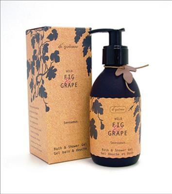 DiPalomo Wild Grap & Fig Sensuous Bath & Shower Gel 250ml