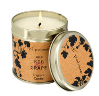 DiPalomo Wild Fig & Grape Fragrant Candle Tin
