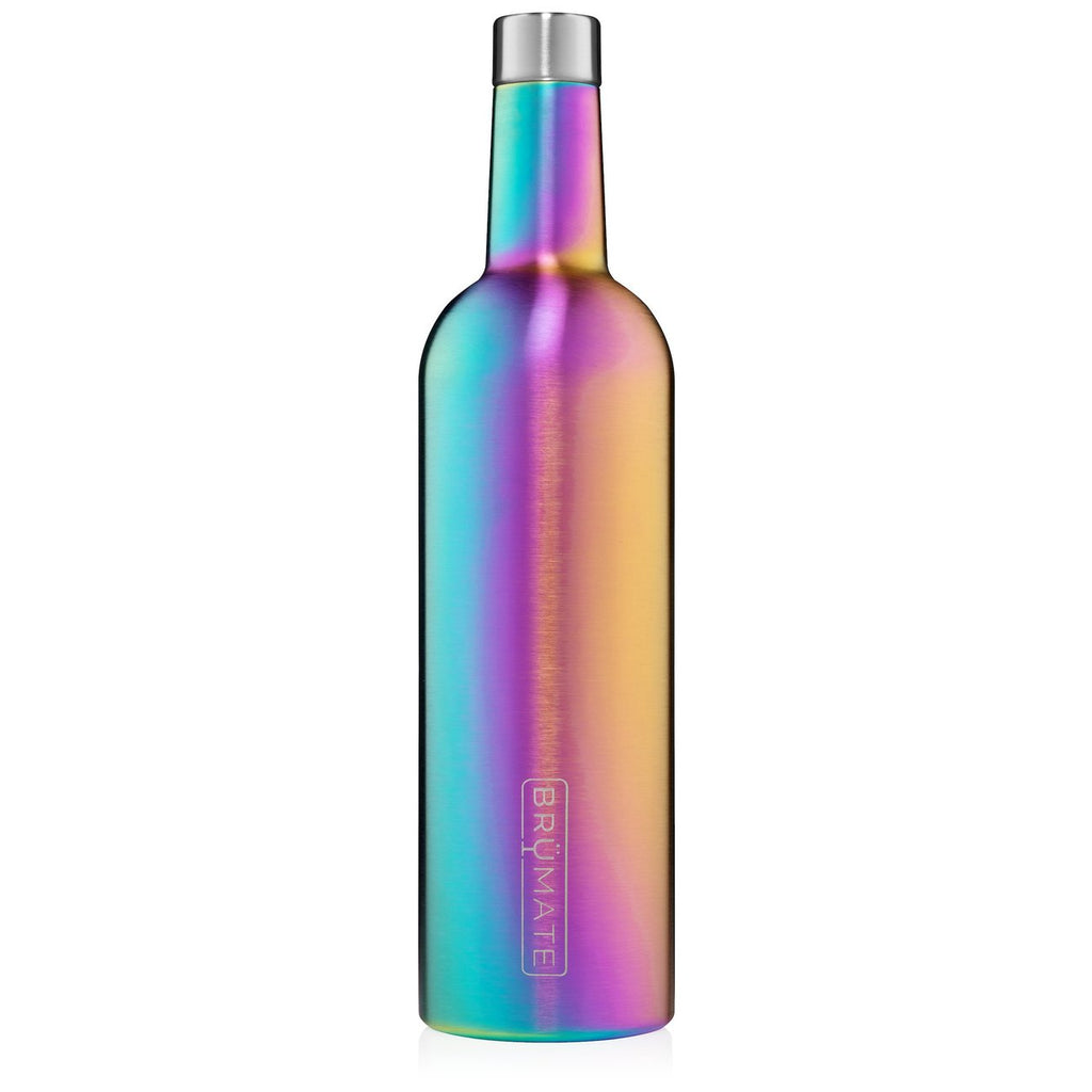 WINESULATOR™ 25OZ WINE CANTEEN | Rainbow Titanium