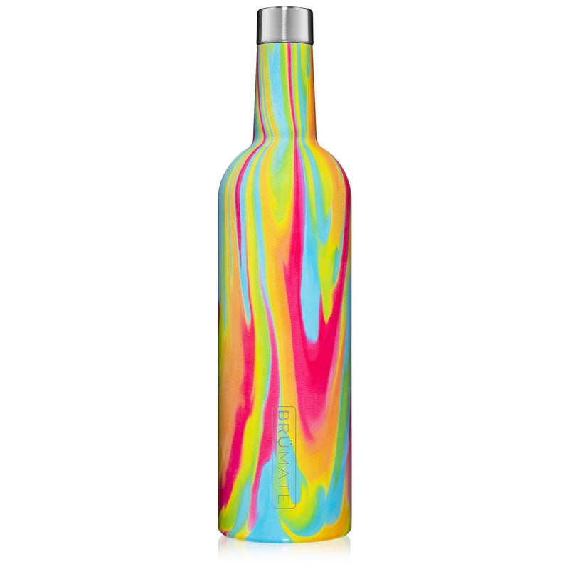 WINESULATOR™ 25OZ WINE CANTEEN | Tie Dye