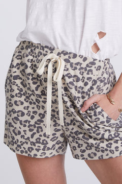 Leopard Casual Print Shorts