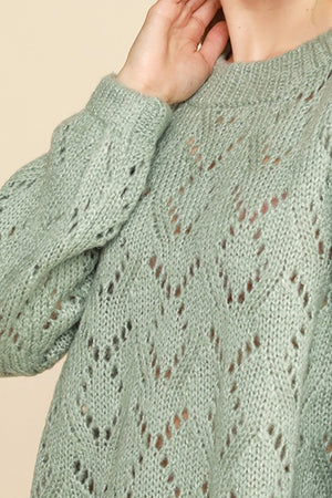 Dusty Mint Sweater
